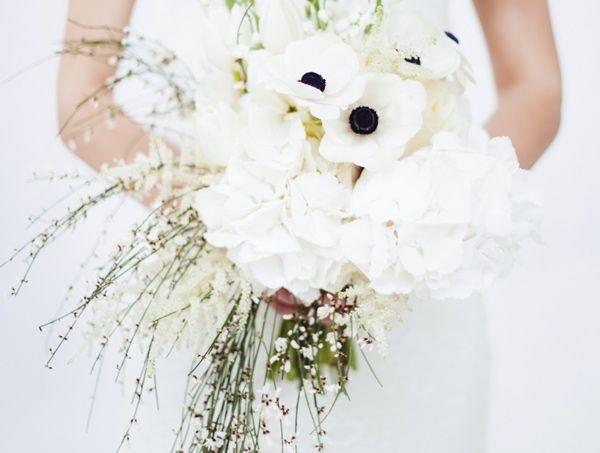 Bouquet invernale bianco